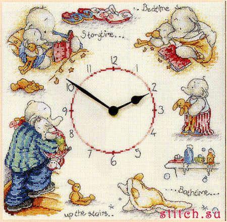 Часы, цветок, роза, часы