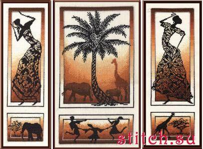 Вышивка крестом африканские истории золотое руно 73