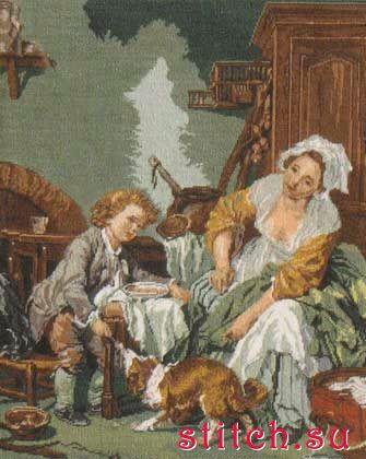 Вышивка балованное дитя золотое руно