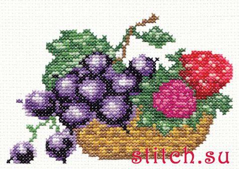 Схемы вышивки «фрукты» - Вышивка крестом