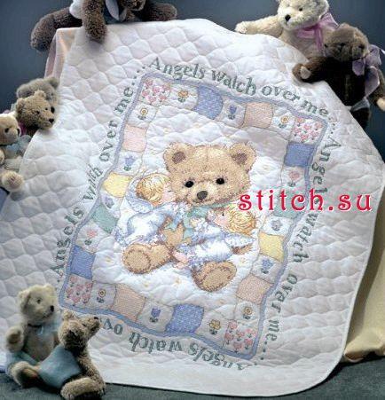 Наборы вышивка крестом одеяло
