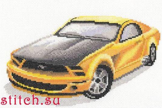 Вышивки крестиком автомобили