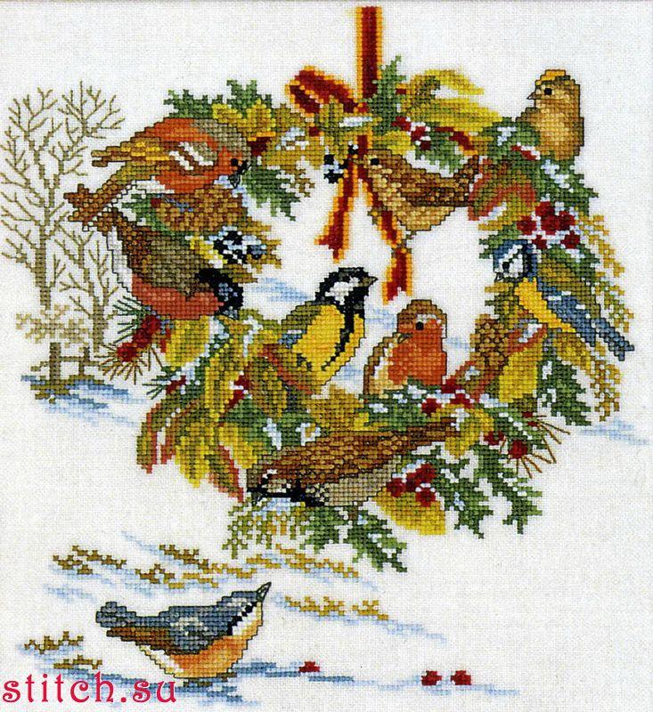 Схемы вышивки от eva rosenstand