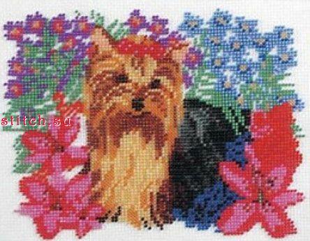 Принцесса ,Разное,Радуга бисера (Кроше),Наборы для вышивки бисером,собаки,вышивание бисером.  Рукоделие.