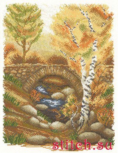 Золотая осень картинки карандашом для начинающих