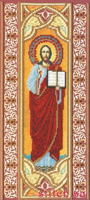 Икона Иисуса Христа схема для