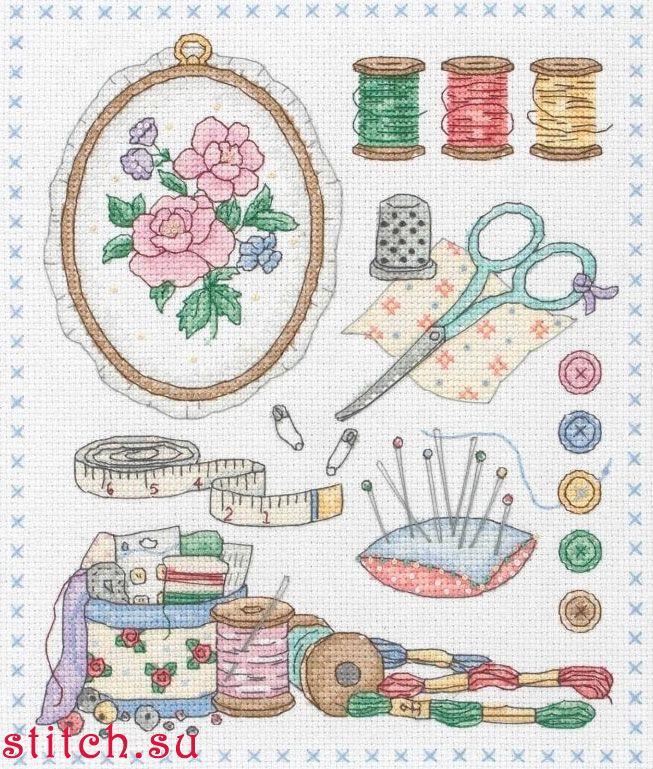 Схемы для вышивки рукоделие для всех