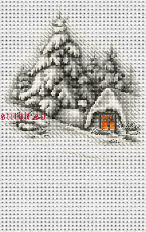 Зимние темы для вышивки