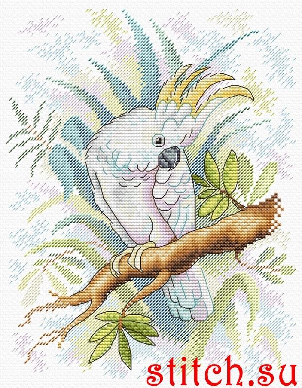 Вышивка крестом жар птица набор 77