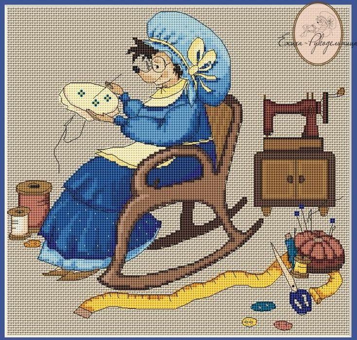 Картинки для рукоделия золушка