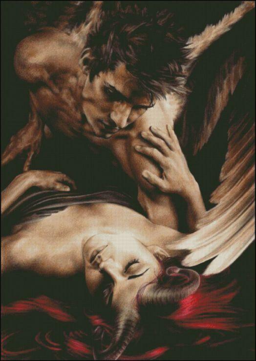 Фото - приветру - ангел и дьявол - ангелы - фотографии пользователя diamond