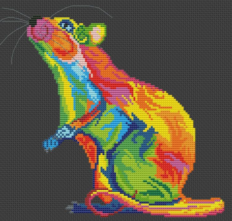 Схема радужный хамелеон