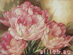 Производитель:Dimensions Артикул: 35175 Название: Tulip Trio (Трио тюльпанов) Размер вышивки: 41 x 30 см (Аида 14)...