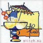 Производитель: Риолис Артикул: 975 Название: Мороженое Размер: 20х20 см. Техника исполнения: счетный крест Цена...