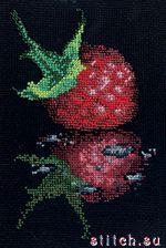 Малина из бисера схема - Фото ягода!