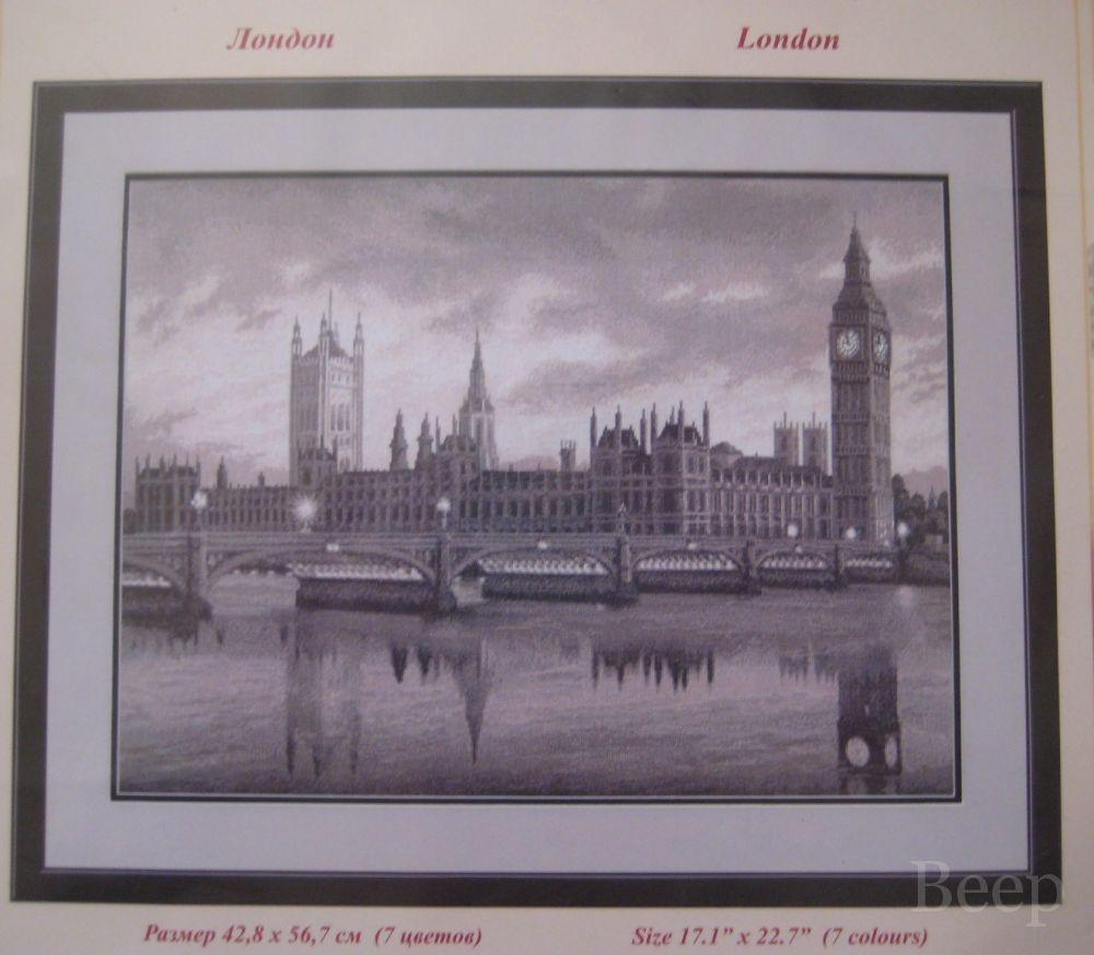 схема вышивки париж и лондон