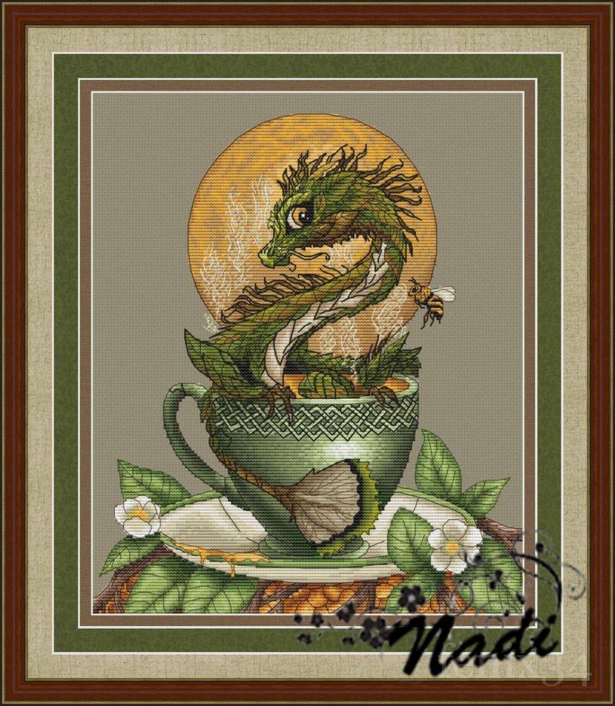Как вышить дракона крестиком: обзор авторских схем: публикации 95