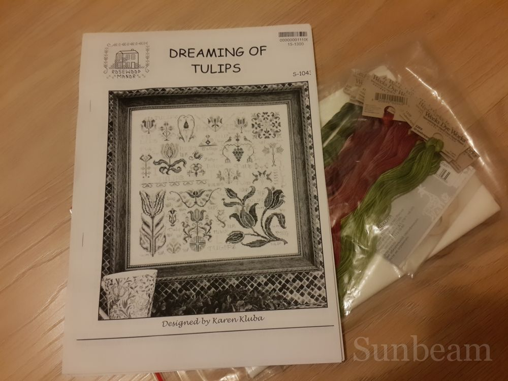 Вышивка dreaming of tulips