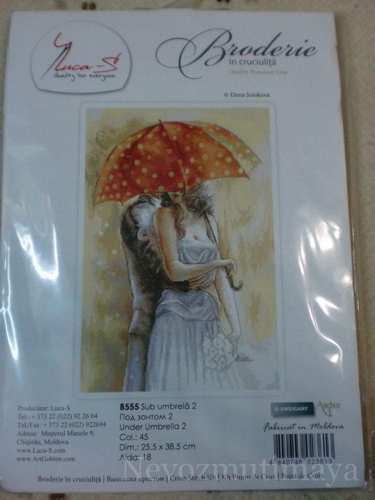 Вышивка под зонтом 2