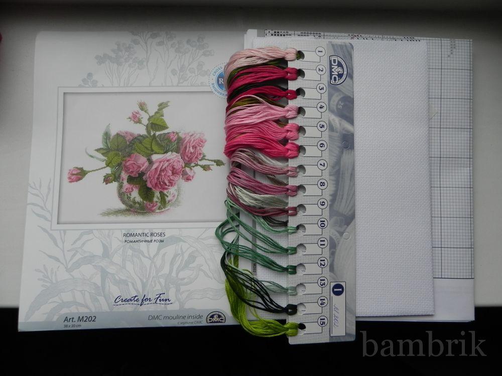 Схема вышивки розы рто