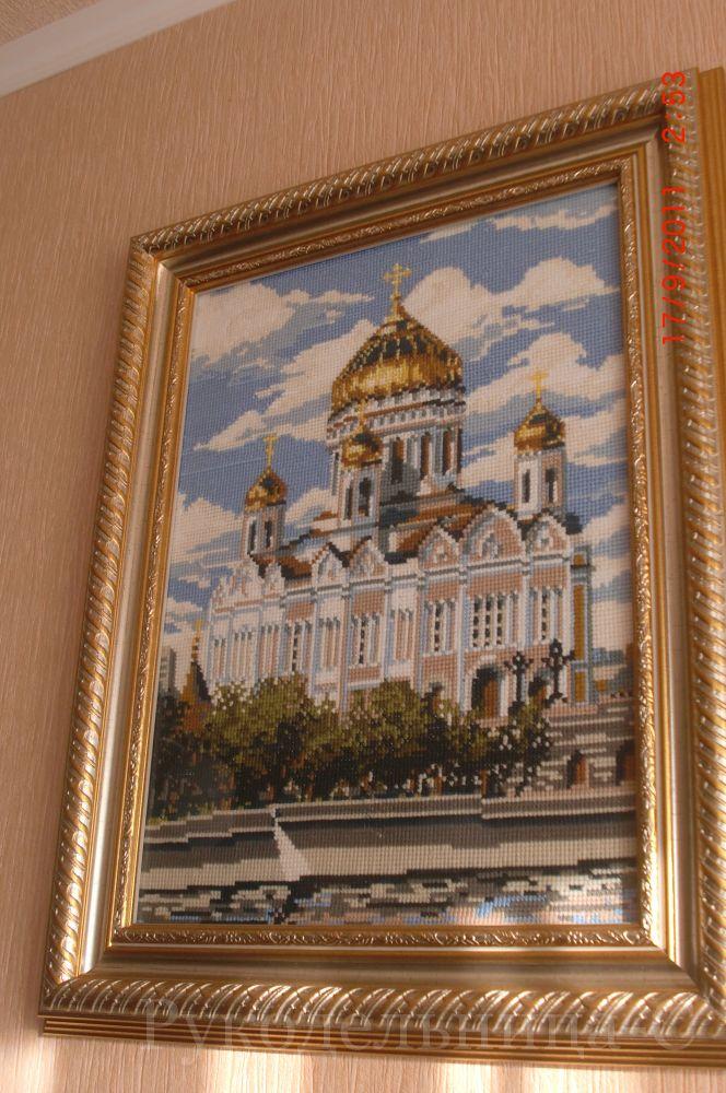 Вышивка риолис храм христа спасителя 48