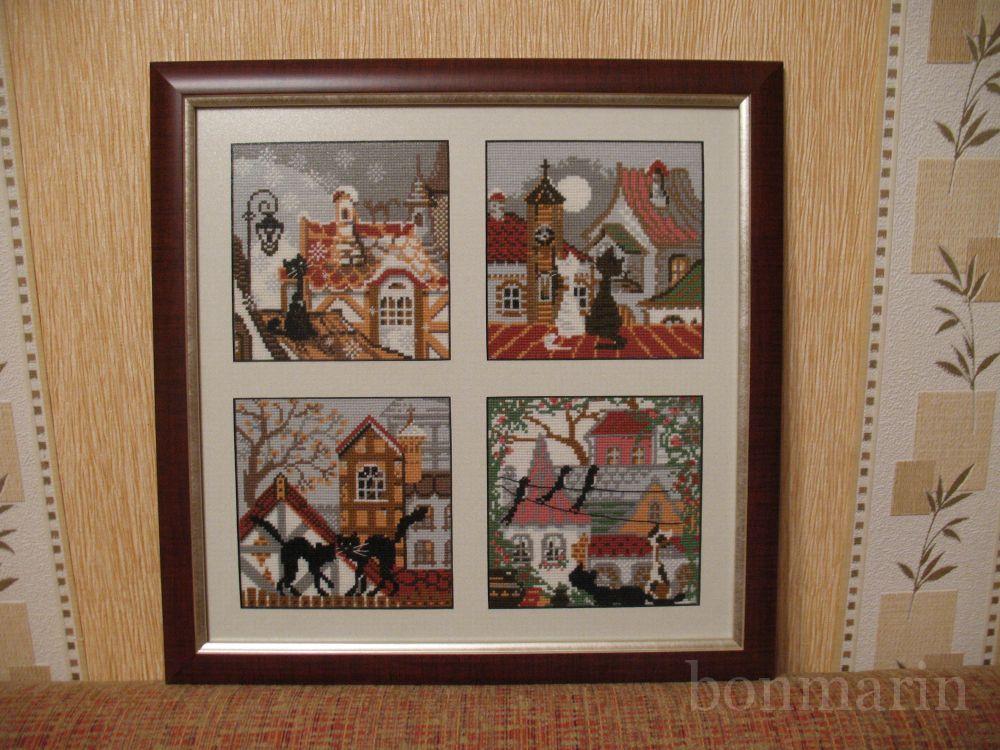 Вышивка крестом серия картин