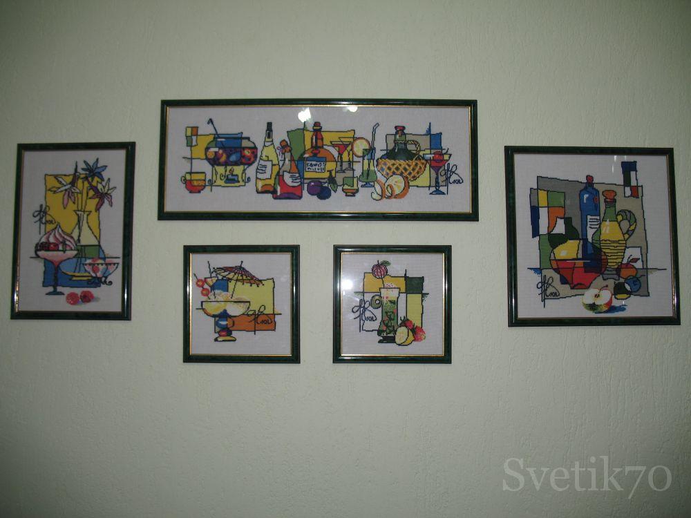 Вышивка крестом картин для кухни 7