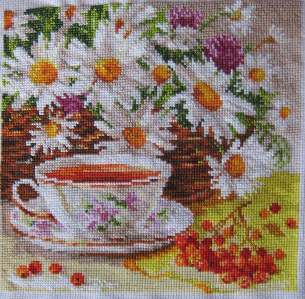 Полуденный чай алиса схема вышивки