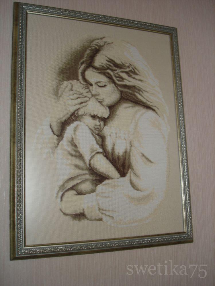 Мать и дитя вышивка лукас 99