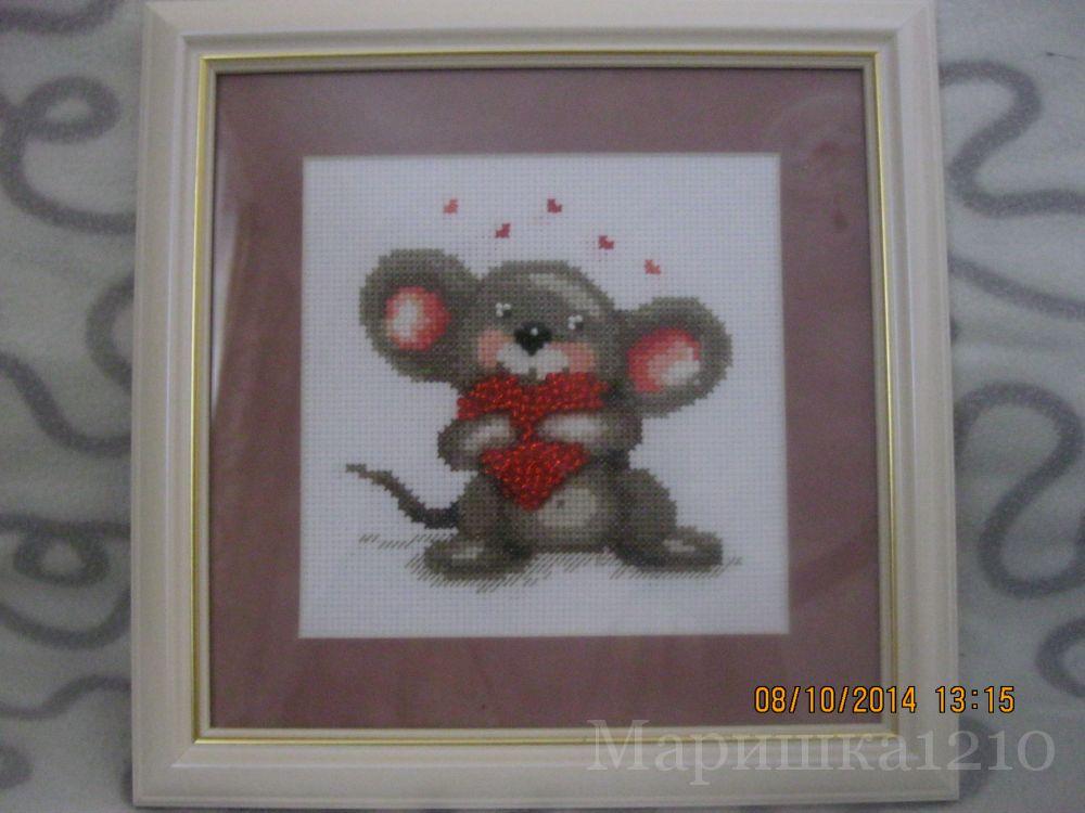 Мышонок от Чаривной Мити.