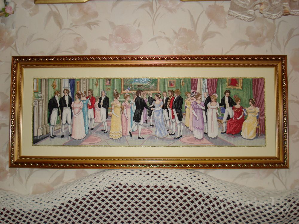 Дворянское собрание вышивка