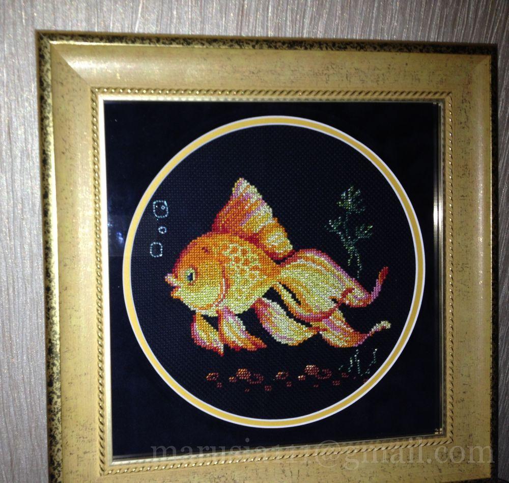 Набор для вышивки рыба 189