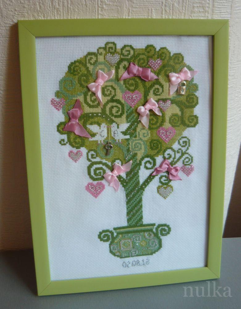 Работа пользователя. nulka.  Комментарий: Набор риолис.  Дерево счастья.