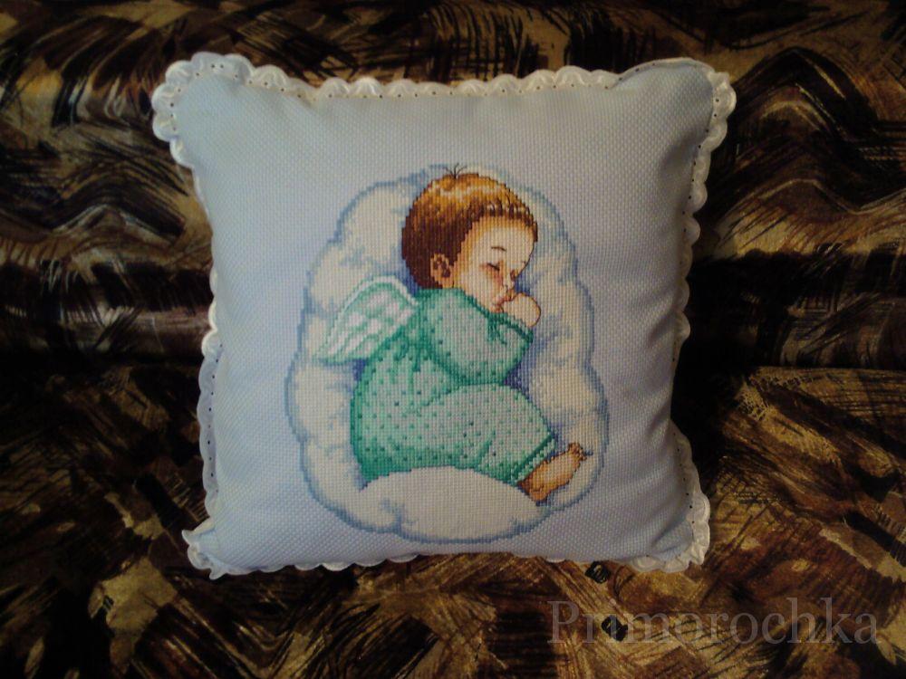 Как вышить подушки своими руками