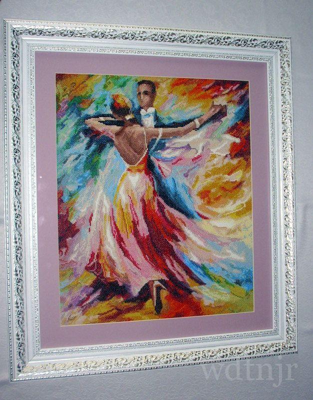 Вышивка танец любви золотое руно