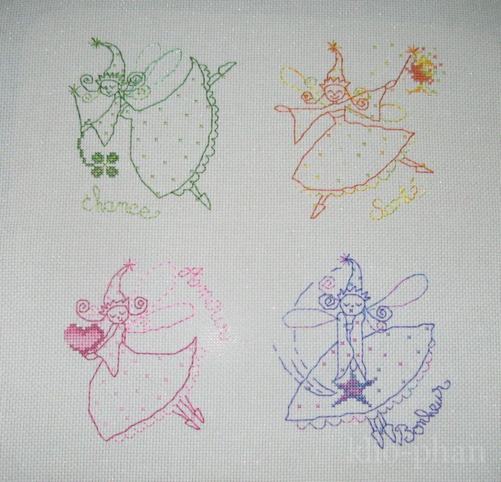 Вышивка меланжем схемы 8
