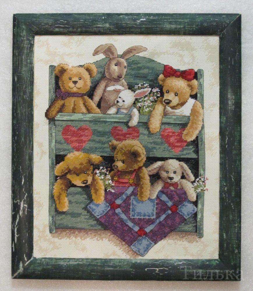 13684 animal shelf схема вышивки 61
