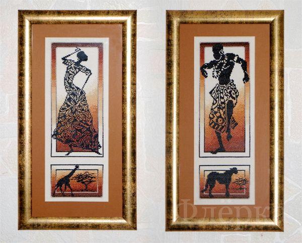 Вышивка крестом африканские истории золотое руно 66