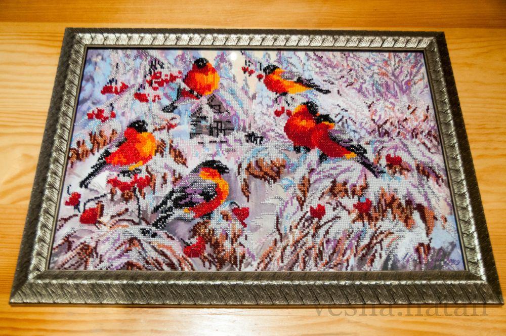 свежие вышивка бисером снегири от абрис арт отзывы гипсокартонные потолки
