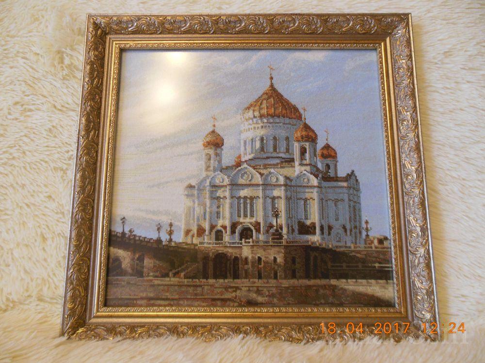 Вышивка риолис храм христа спасителя 89