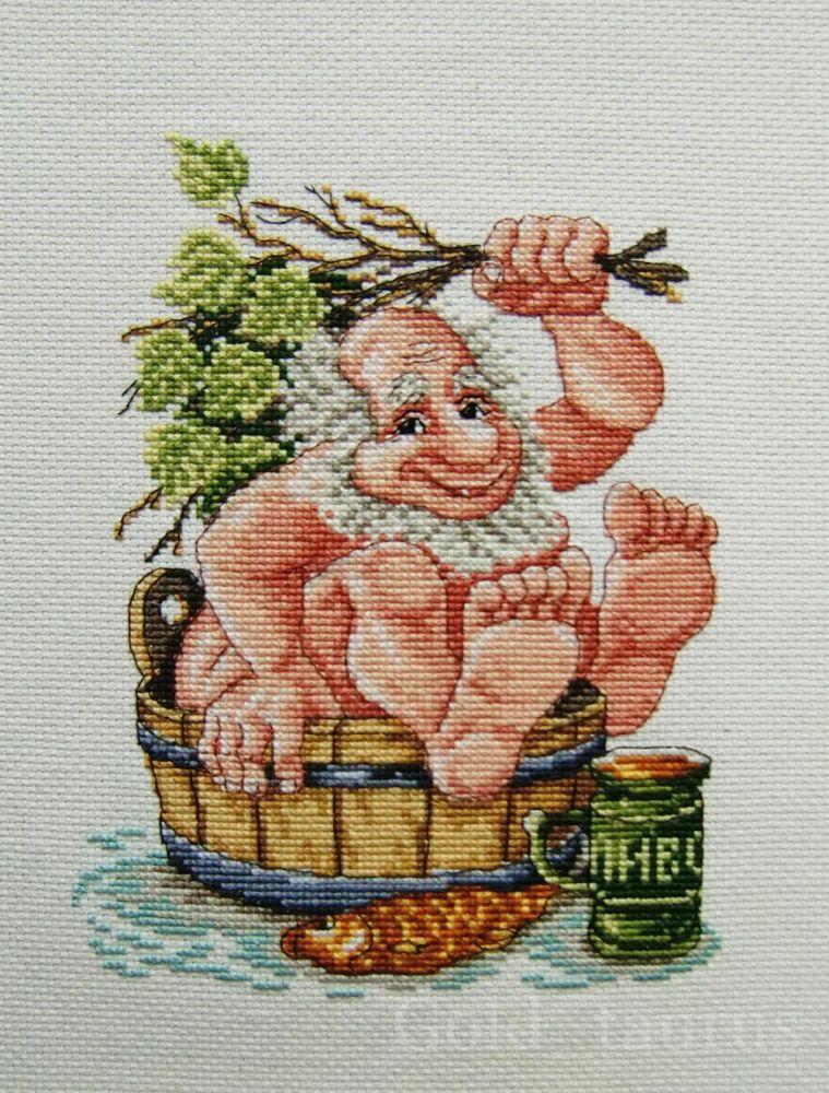 Схема вышивки банная тема 69