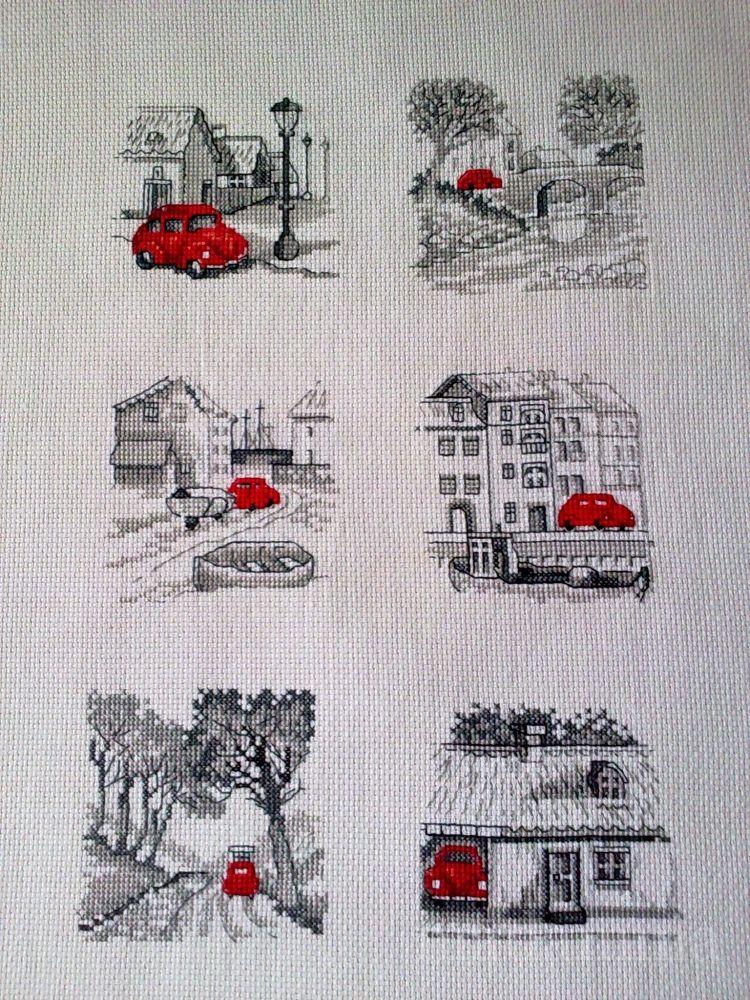Схема вышивки на машинке 80