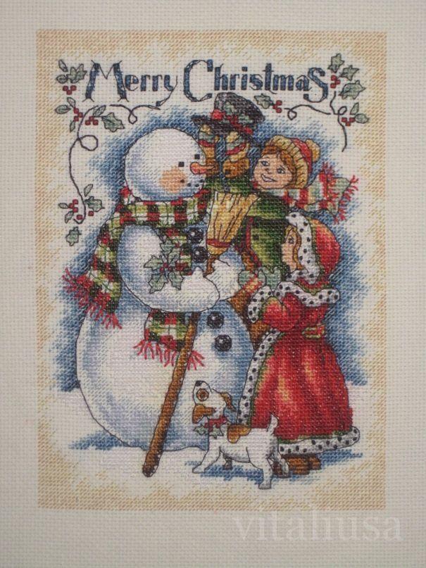 Рождественские истории схема скачать