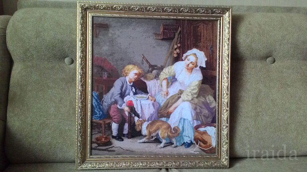 Балованное дитя схема вышивка