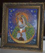 Кроше (Радуга бисера) Остробрамская Богородица.