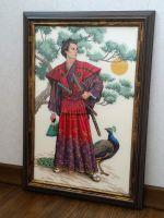 Dimensions 03881, Могущественный самурай. Начинала вышивать...