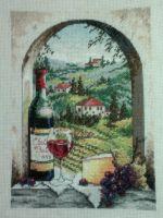Тоскана вышивка крестом