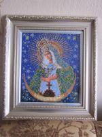Остробрамская икона Божьей Матери, очень приятная...